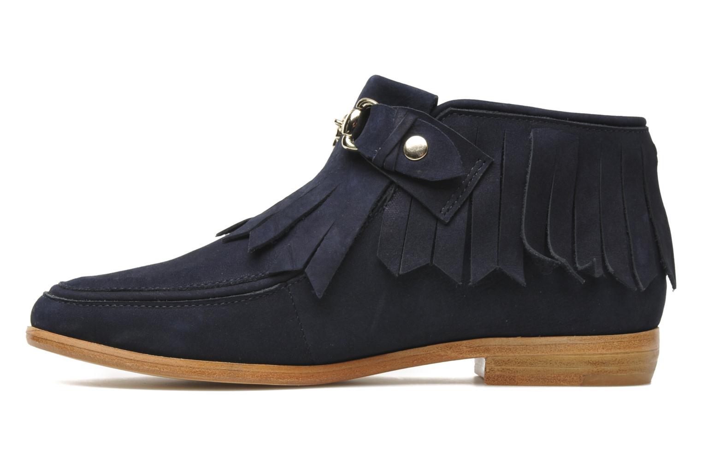 Stiefeletten & Boots F-Troupe Fringy blau ansicht von vorne