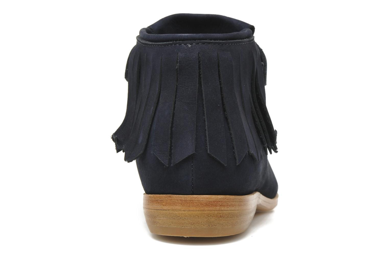 Boots en enkellaarsjes F-Troupe Fringy Blauw rechts