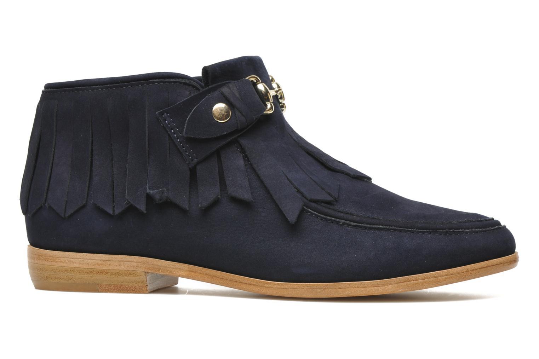 Stiefeletten & Boots F-Troupe Fringy blau ansicht von hinten