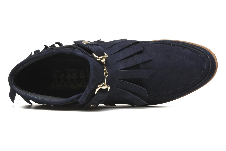 Stiefeletten & Boots F-Troupe Fringy blau ansicht von links