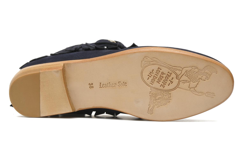 Stiefeletten & Boots F-Troupe Fringy blau ansicht von oben