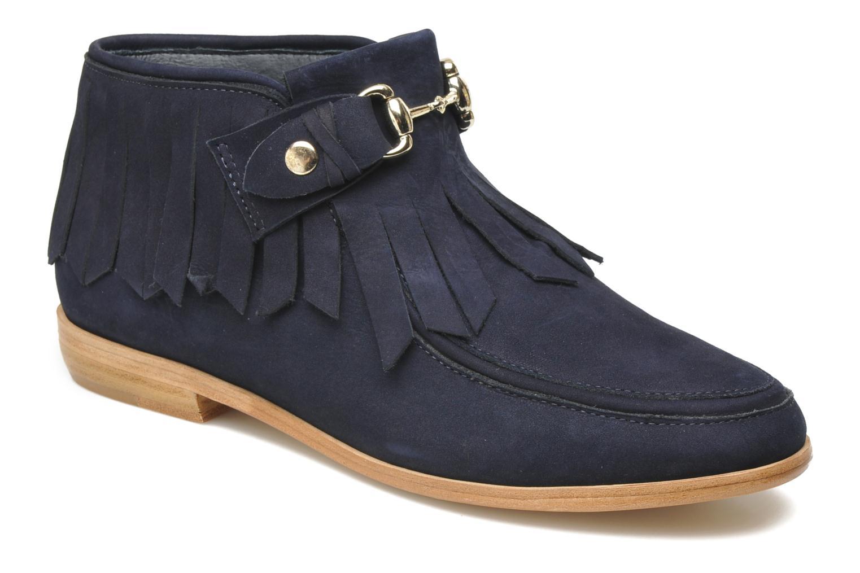 Boots en enkellaarsjes F-Troupe Fringy Blauw detail