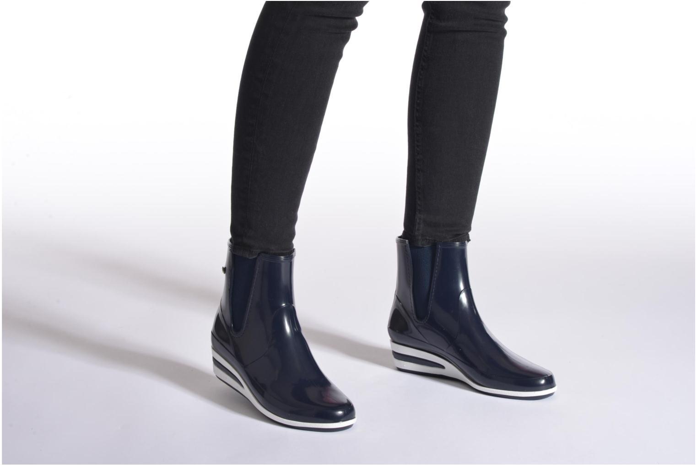 Bottines et boots Méduse Castic Noir vue bas / vue portée sac
