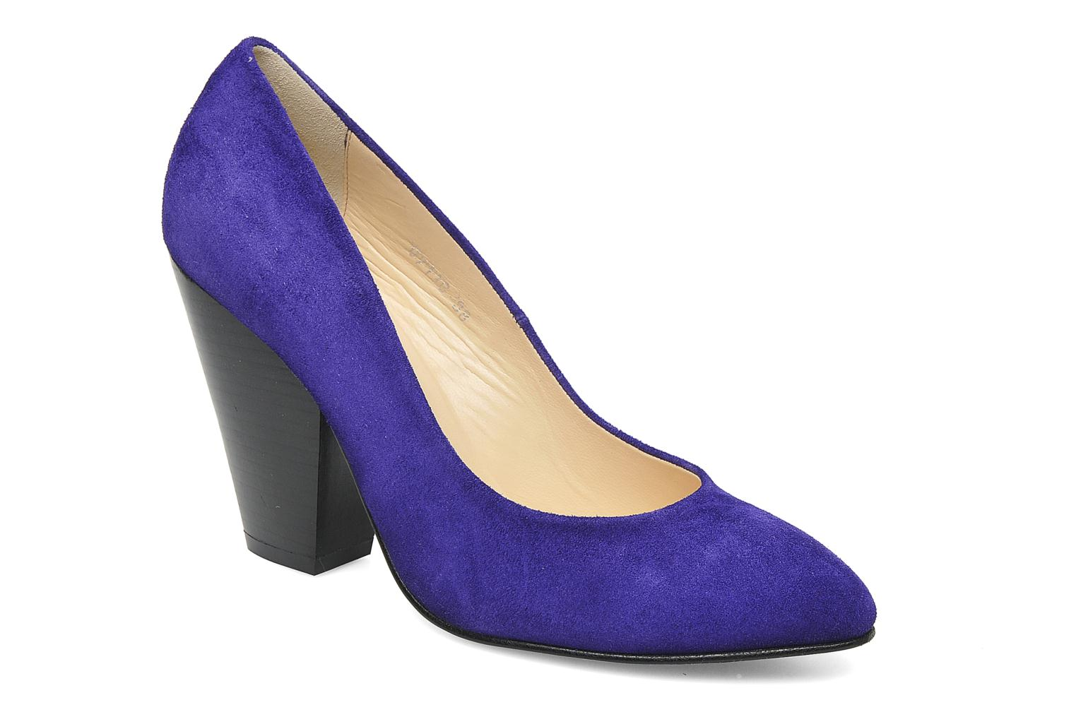 Bianca Pump Flash Purple Suede