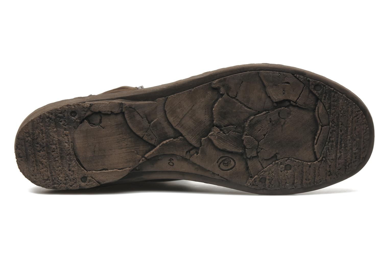Stiefel Khrio Bergame braun ansicht von oben