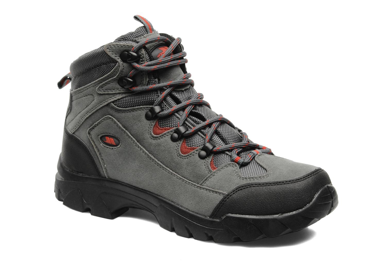 Chaussures de sport Trespass Oscar Gris vue détail/paire