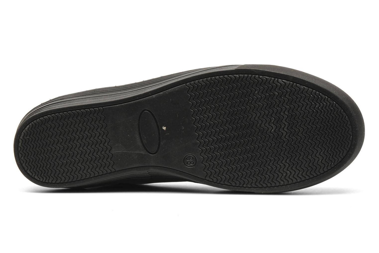 Sneaker Eden Cabir schwarz ansicht von oben