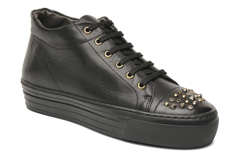 Sneaker Eden Cabir schwarz detaillierte ansicht/modell