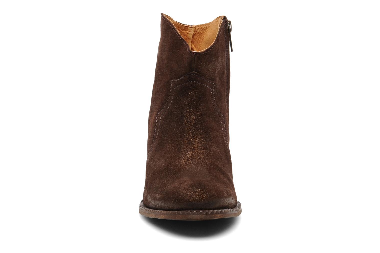 Stiefeletten & Boots Eden Celil braun schuhe getragen