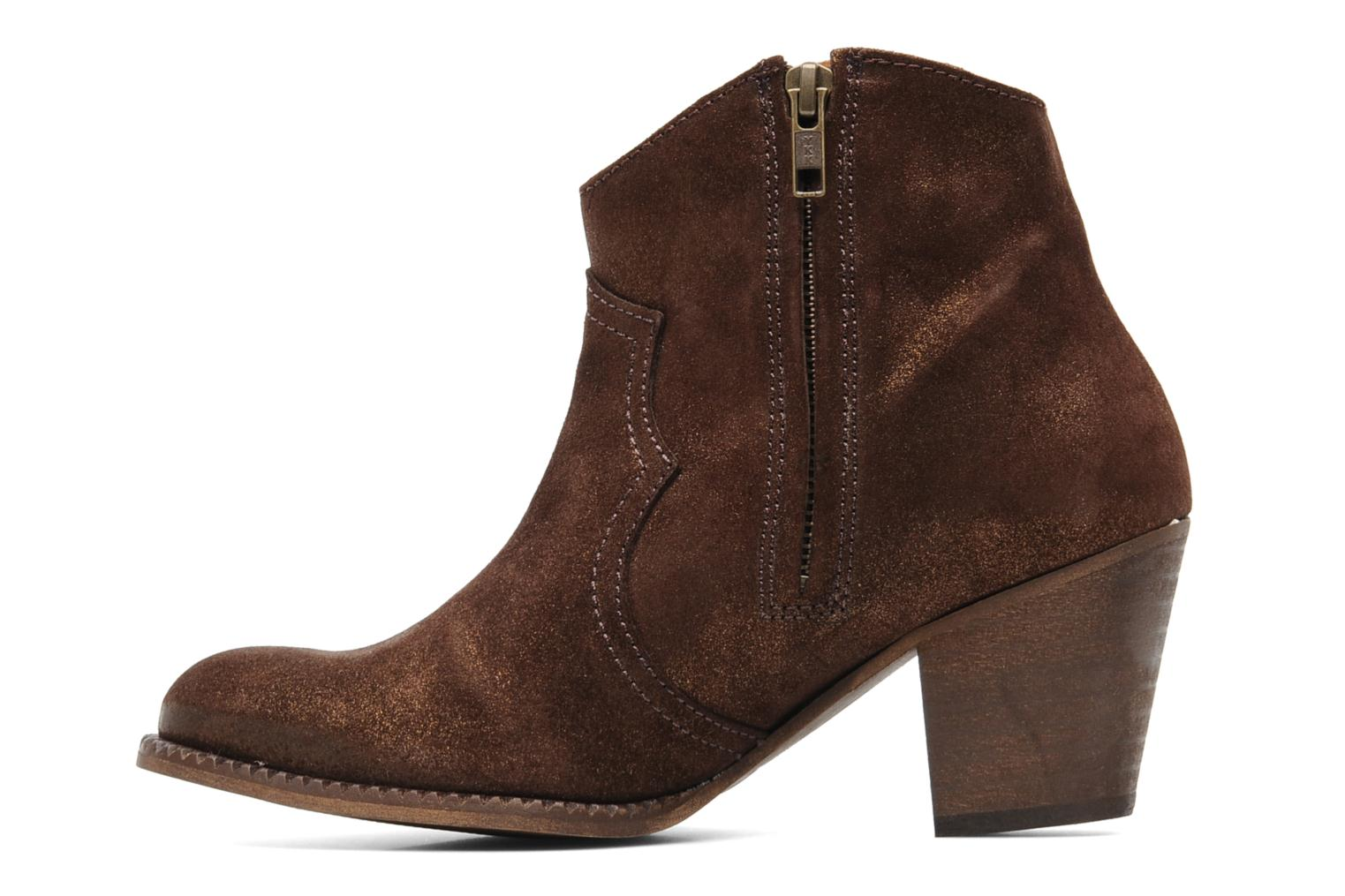 Ankle boots Eden Celil Brown front view
