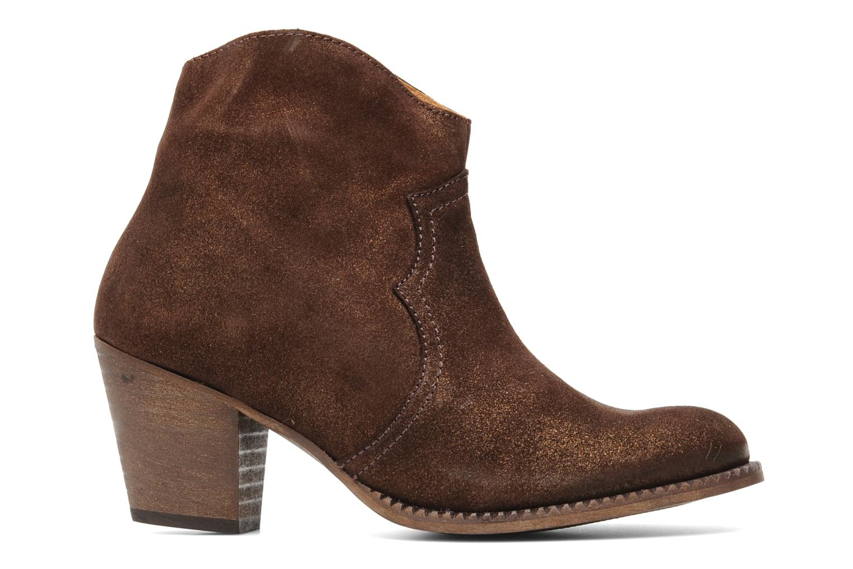 Bottines et boots Eden Celil Marron vue derrière