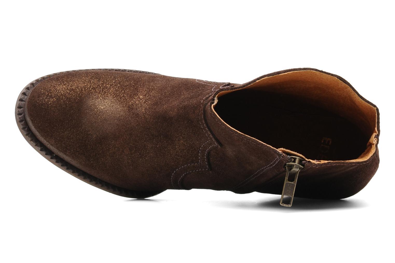 Stiefeletten & Boots Eden Celil braun ansicht von links
