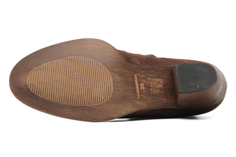 Stiefeletten & Boots Eden Celil braun ansicht von oben