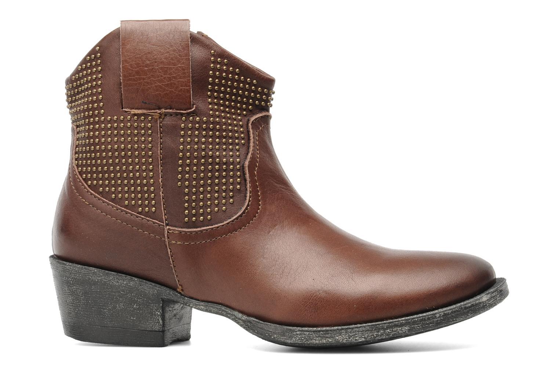 Boots en enkellaarsjes Eden Derya Bruin achterkant