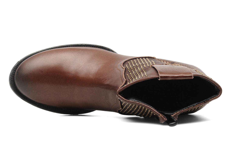 Boots en enkellaarsjes Eden Derya Bruin links