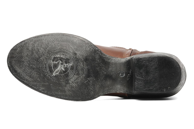 Boots en enkellaarsjes Eden Derya Bruin boven