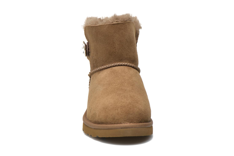 Boots en enkellaarsjes UGG Mini Bailey Button Bling Bruin model