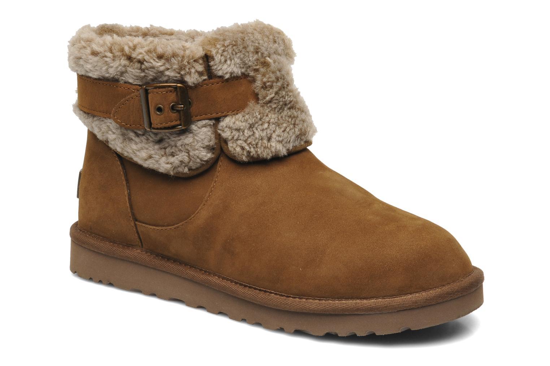 Boots en enkellaarsjes UGG Jocelin Bruin detail