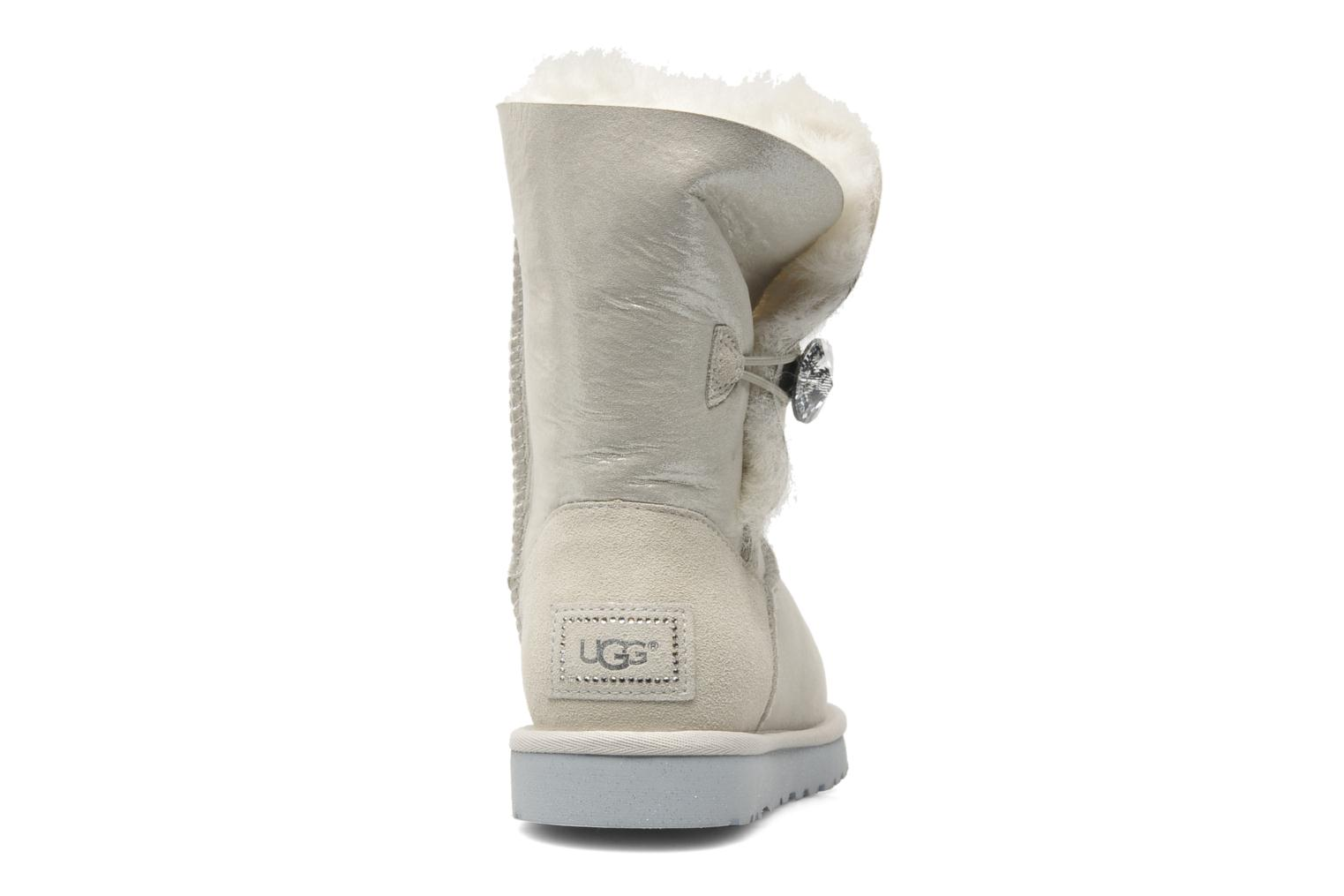 Botines  UGG Bailey I Do! Gris vista lateral derecha