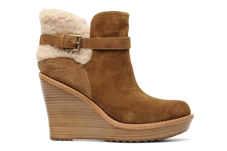 Stiefeletten & Boots UGG Anais braun ansicht von hinten