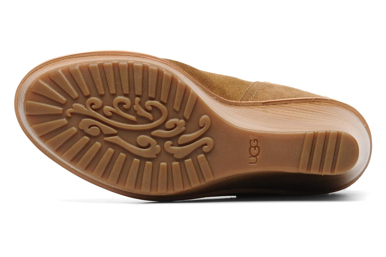 Stiefeletten & Boots UGG Anais braun ansicht von oben