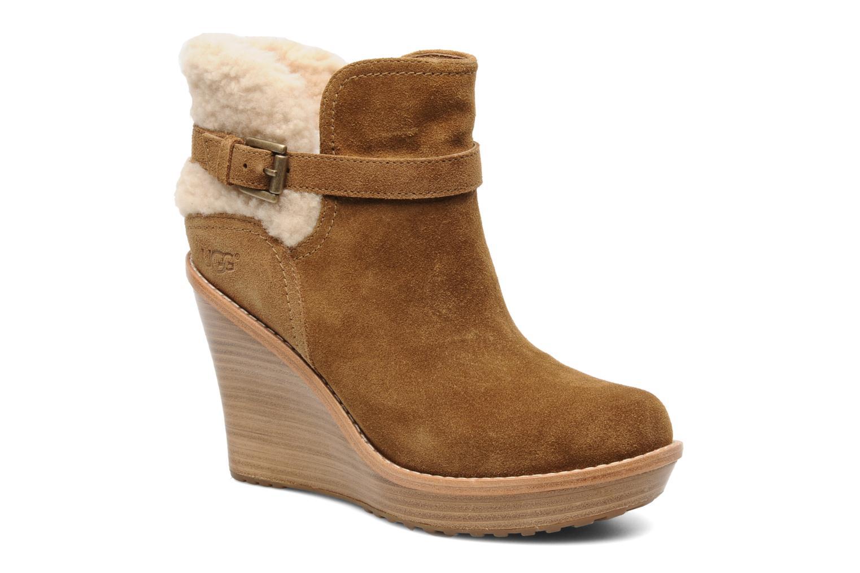 Bottines et boots UGG Anais Marron vue détail/paire