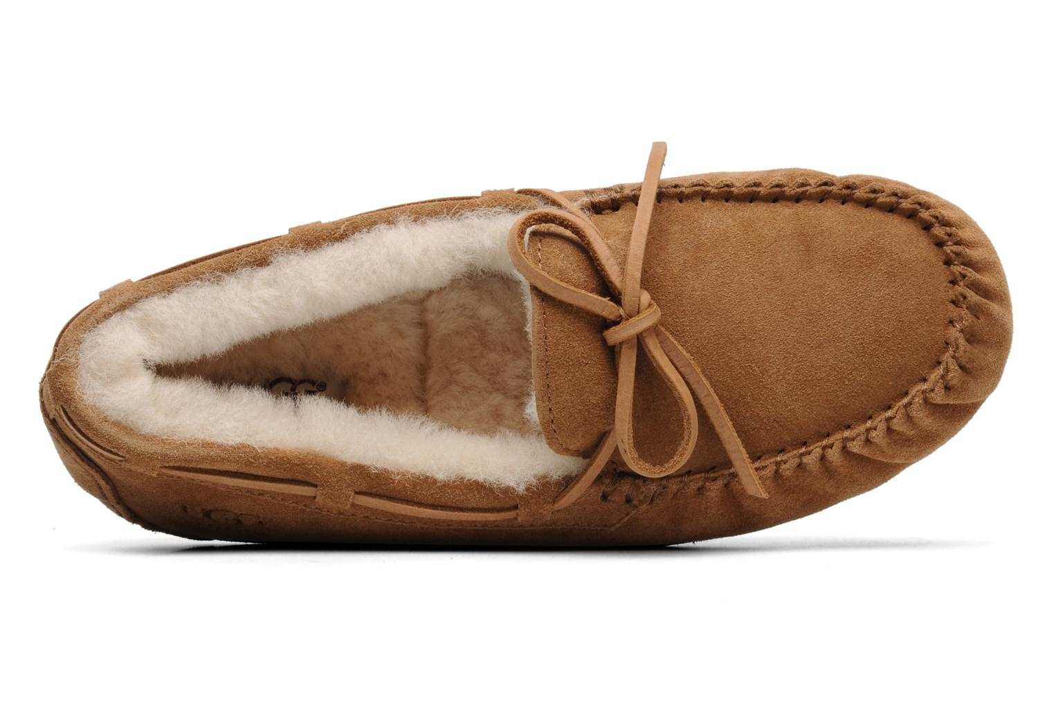 Slippers UGG Olsen Beige view from the left