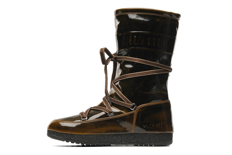 Boots en enkellaarsjes Moon Boot 5th Avenue Goud en brons voorkant