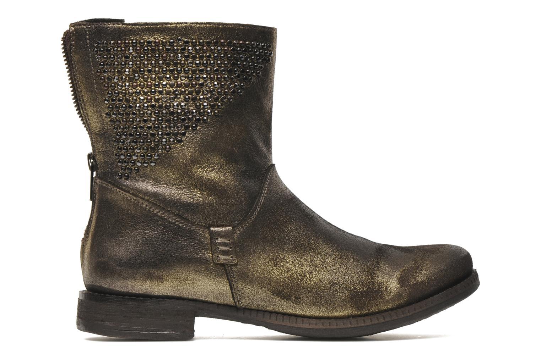 Bottines et boots Khrio Cuma Or et bronze vue derrière