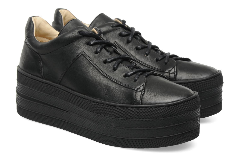 Sneakers Free Lance Skyla Derby Zwart 3/4'
