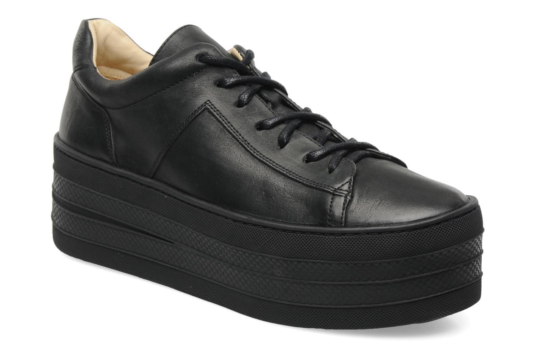 Sneakers Free Lance Skyla Derby Zwart detail