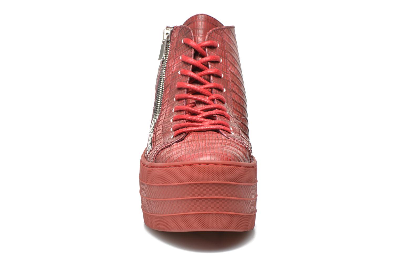 Skyla Zip Basket Tegu Rouge