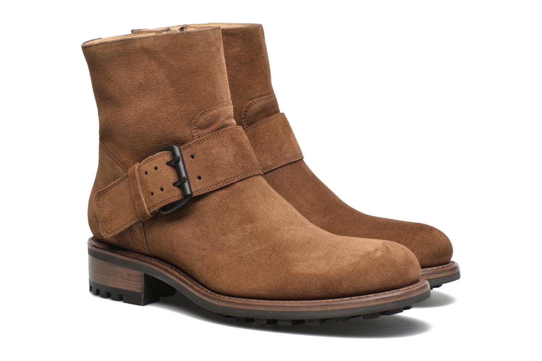 Bottines et boots Jean-Baptiste Rautureau Hyrod Strap Boot Marron vue 3/4