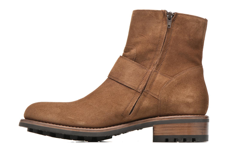 Boots en enkellaarsjes Jean-Baptiste Rautureau Hyrod Strap Boot Bruin voorkant