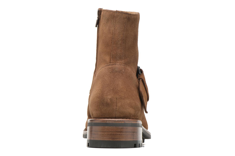 Boots en enkellaarsjes Jean-Baptiste Rautureau Hyrod Strap Boot Bruin rechts