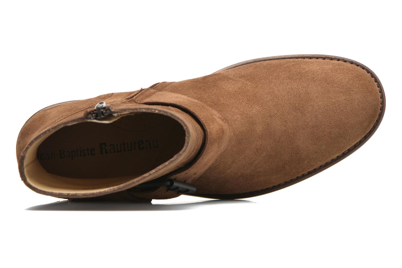 Boots en enkellaarsjes Jean-Baptiste Rautureau Hyrod Strap Boot Bruin links
