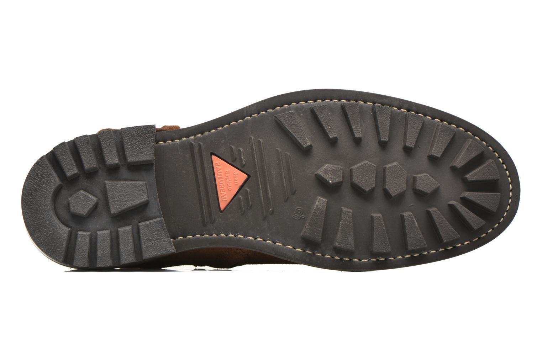 Boots en enkellaarsjes Jean-Baptiste Rautureau Hyrod Strap Boot Bruin boven