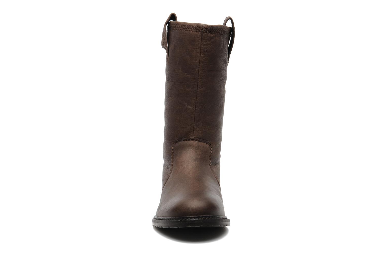 Bottines et boots SPM RIME Marron vue portées chaussures