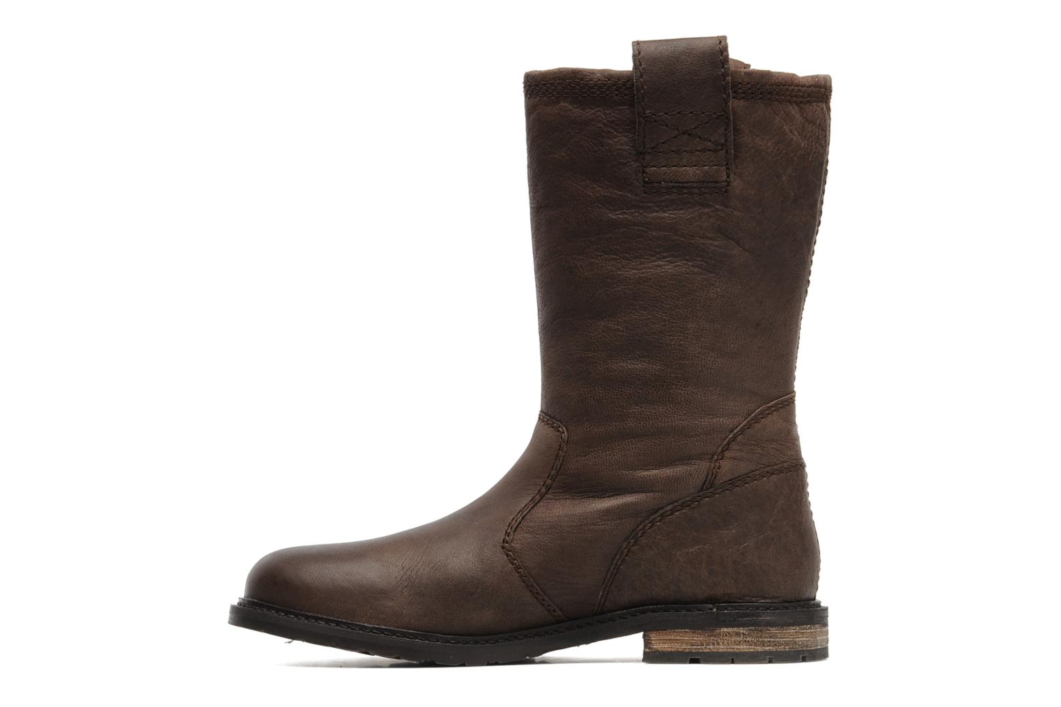 Bottines et boots SPM RIME Marron vue face