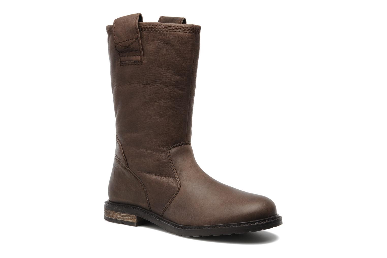 Bottines et boots SPM RIME Marron vue détail/paire