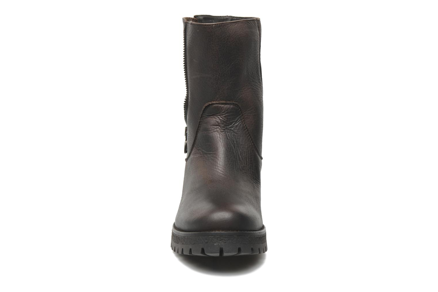 Boots en enkellaarsjes U.S Polo Assn. Federica Leather Bruin model