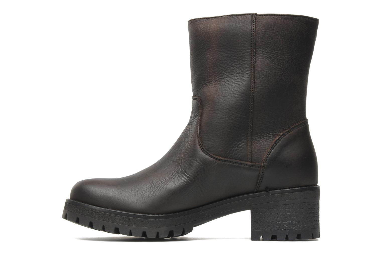 Bottines et boots U.S Polo Assn. Federica Leather Marron vue face