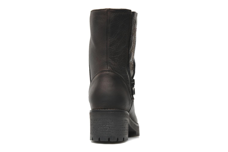 Bottines et boots U.S Polo Assn. Federica Leather Marron vue droite