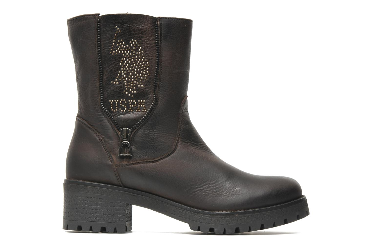 Bottines et boots U.S Polo Assn. Federica Leather Marron vue derrière