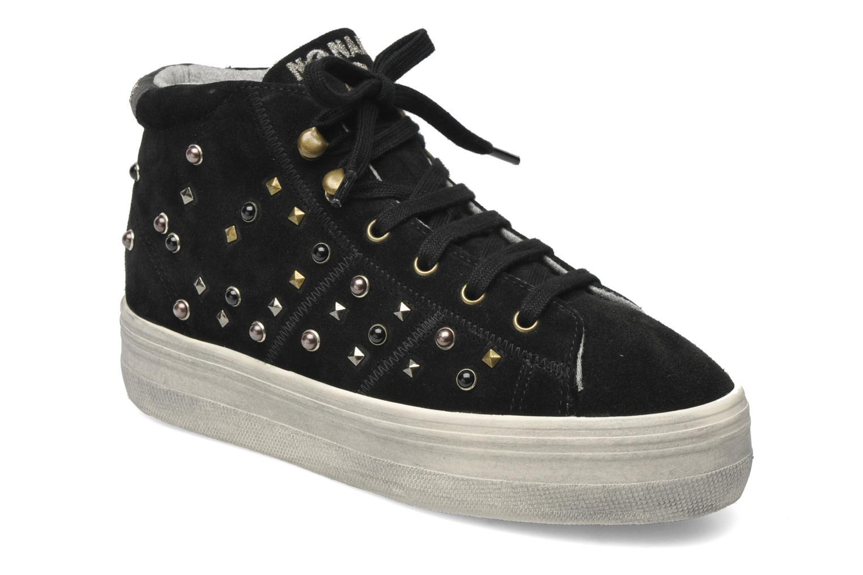 Sneaker No Name Plato hight cut Studs schwarz detaillierte ansicht/modell