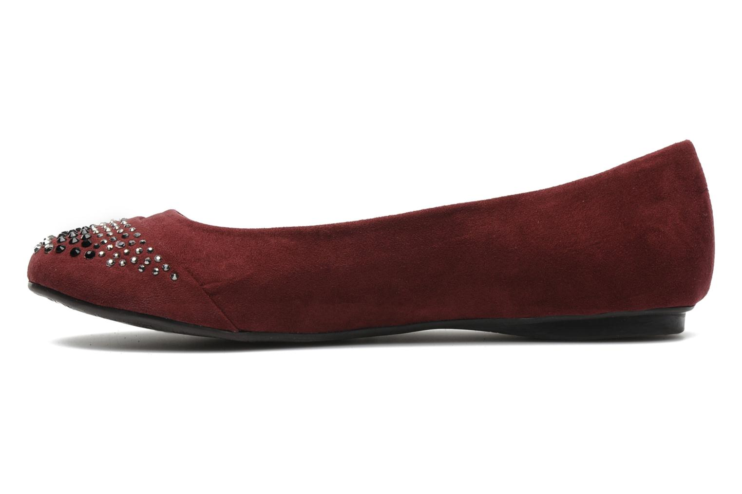 Ballerines Xti Truna Bordeaux vue face