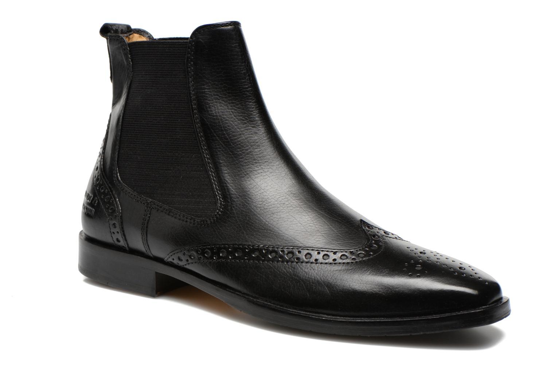 Boots en enkellaarsjes Melvin & Hamilton Alex 9 Zwart detail