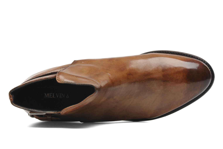 Bottines et boots Melvin & Hamilton Holly 8 Marron vue gauche