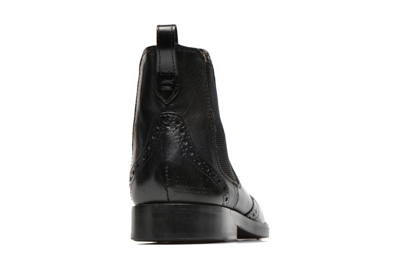 Bottines et boots Melvin & Hamilton Amelie 5 Noir vue droite