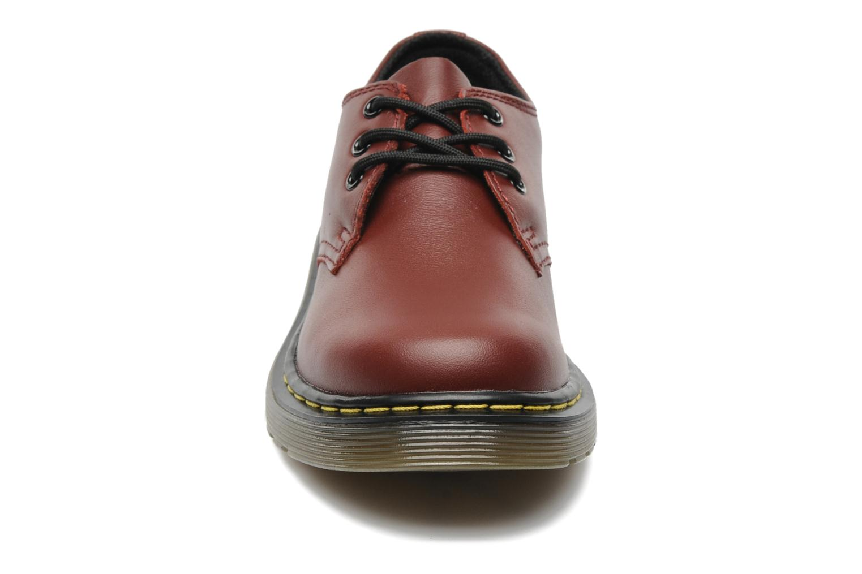 Chaussures à lacets Dr. Martens Lace shoe juniors Bordeaux vue portées chaussures